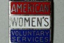 American Women's Volunteer Service / AWVS - wartime service organization