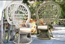 Nád bútorok / Wicker Furniture