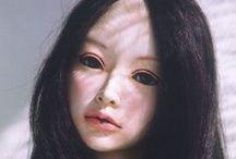 art dolls brunettes