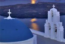 GREECE IN BLUE
