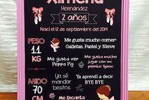Pizarrones para fiestas / Pizarrones para decorar tu evento