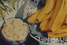 Vintage Banana Tuesdays / Vintage banana recipes - some of which I make!