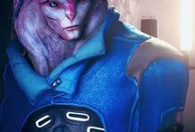 ᶜʰ // jaal ama darav. / ' I COULD KILL YOU IN YOUR SLEEP. ' // JAAL AMA DARAV; MASS EFFECT ANDROMEDA.