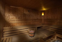 Wellness Centre / The Hotel Garnì Laura Wellness Centre: Sauna, a large Jacuzzi (whirlpool bath), a Turkish Bath, a Cold Mist shower, an Aromatic Shower, a Scottish Shower.