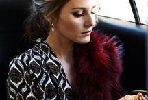 Olivia Palermo / She knows pretty well how to be simple stunning chic.