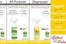 Nontoxic Cleaning / Nontoxic, biodegradable, organic, super concentrated cleaners and cleaning tips!