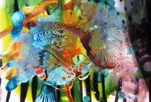 Own Abstract Paintings / Whimsy
