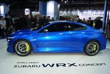 Subaru WRX Concept  / Via the NYIAS presenting the Subaru WRX Concept car