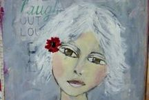 WANDA'S JOURNAL ART / Soul and Technique art...using my own INSPIRATION ;)