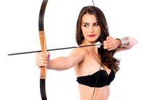My bows and Ildikó Polgár / Miss Hungary 2008