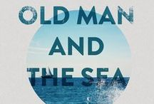 The old man and the sea / Best book covers on Pinterest!