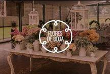 Flores de la boda / Las flores de la boda son parte importante de la decoración. Te presento consejos e ideas para los centros de mesa y arreglos de flores del gran día.