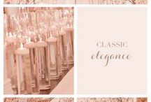 Romantic Weddings / Romantic, stylish wedding themes.