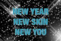 New Year Skin Resolutions / #NewYearNewYou #NewYearSkinResolutions #skin #skintips #skinfood #skincare