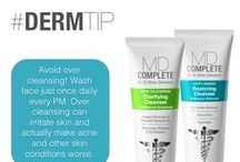 MD Complete Tips & Tricks / Tips & tricks from the MD Complete team and Dr. Brian Zelickson himself #dermtip #skincare #skintip