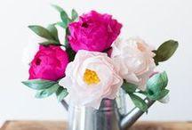 DIY Paper Flowers/ Faux Flowers