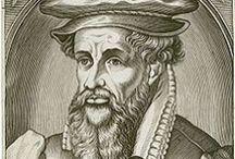 Gerardo Mercatore / Gerardo Mercatore è stato un matematico, astronomo e cartografo fiammingo. Celebre per i suoi studi cartografici e per aver inventato un sistema di proiezione cartografica che porta il suo nome (proiezione di Mercatore).