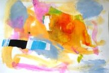 Painting Outside The Lines... / Instinctual Painting ~ Free to Flow