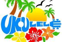 HAWAI'IAN Ukulele Strings / UKULELE LOVE!  I CAN CLOSE MY EYES & HEAR HAWAI'IAN-STYLE UKULELE AGAIN... / by BonRu