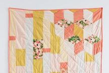 How to make a quilt / Quilt patterns, quilting tutorials, favorite blocks and patchwork, some paper piecing, and a binding technique or two. / by Stephanie @ Tiny Shop