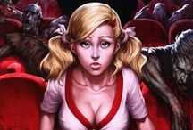 """Zenescope - The Theater / Covers comics """"The Theater"""""""
