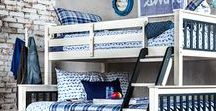 Sleep tight. Dream on. / Let the kids' imagination run wild on these fun youth bunk beds and bedroom sets.