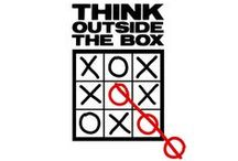 unusual & unexpected /  thinking outside the box
