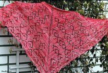 Shawls / Huivit / Free lacy shawl model for knitting