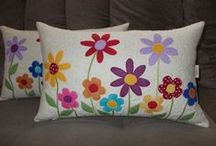 Minhas almofadas / patchwork
