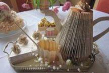 Bücher / Bücher falten und dekorieren
