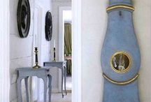 Gustavian style / Inspirations from the Northern Europe