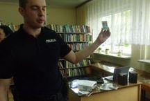 Warsztaty w Bibliotece Publicznej w Sokółce / Bibliotekarze ostro trenują siebie, ale bardziej innych:)...