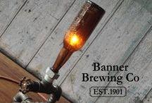 BANNER BREWING Co. / Original Banner Beer Brewed & Bottled In The United States