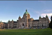 Victoria / Harbour city, provincial capital + home of castles, manors &grand hotels