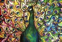 Magnificent Peacocks / Admiration for their stunning beauty.