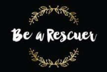 Rescue & Recovery // L&R / Pets are so therapeutic and sometimes need rescuing too!