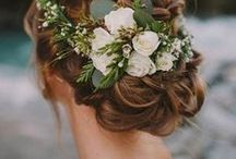 Wedding Hairstyles We Love / Great hair ideas for any bride to be for their big day! We work closely with many hair & makeup artists who would love to help make you shine on your wedding day.