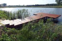 Taras drewniany w Żarach / Taras drewniany w Żarach