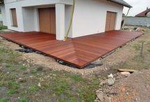 Taras drewniany w Żarach wykonany z drewna Bangkirai / Taras drewniany w Żarach wykonany z drewna Bangkirai