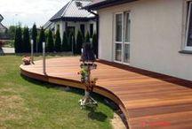 Taras drewniany w Szczecinie / Taras drewniany w Szczecinie