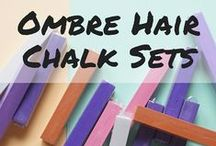 Ombre Hair Chalk Sets / Get 6 pieces of hair chalks to get that quick, easy and pretty chalked hair!