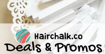 Hair Chalk Deals & Promos / Save on your favorite HairChalkCo products with our weekly deals and promos!