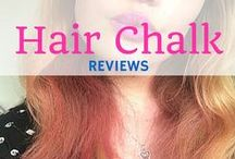 Hair Chalk Reviews / We've worked with bloggers and here's what they've got to say about hair chalks!