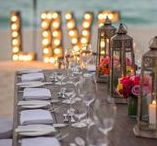 Wedding Reception Ideas / At Grand Hyatt Playa del Carmen Resort we can create the celebration atmosphere of you dreams from a formal ballroom to a beach side party!