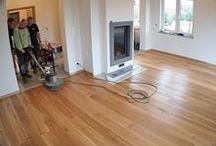 Realizacja podłogi drewnianej w Chynowie koło Zielonej Góry / Realizacja podłogi drewnianej w Chynowie koło Zielonej Góry