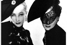 1938 Make Up, Fashion, Beauty / Make Up examples, hairstyle, fashion and beauty from 1938's