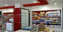 Farmacia Fuengirola / Decoración general de espacios de farmacias, mobiliario muebles farmacias, Expositores, Góndola farmacia,mostradores,estantes potitos,amueblamiento,Equipamiento tienda.#Farmacialaconcha #farmaciasconestilo #diseñodeinteriores #mueblesamedida #icas #vidrioscolor #reformaintegral #TrabajoEnEquipo Un gran proyecto a una gran familia, ha sido un honor el haber trabajado en  https://m.facebook.com/farmacia.laconcha ,un proyecto ambicioso con un gran diseño, todo un reto, meta conseguida. mcviman.com