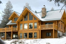 Christmas Log Homes - Community Board / Homes you'd love to holiday in this Christmas. To join get in touch with us through Twitter @HollandAndGreen or email enquiry@hollandgreen.co.uk