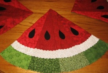 Quilting: Potholders, tablerunners, placemats / potholders,tablerunners, placemats  / by Rusty Dixon