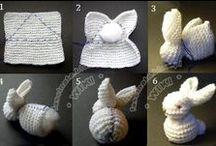 knitting and crotchet stuff